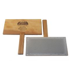 Howard Brush Hand Cards - 3 Sizes - 5 Carding Cloths to Choose from | The Woolery
