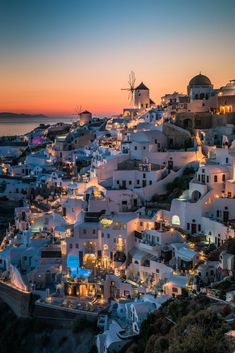 Night in Oia, Santorini, Greece Beautiful Places To Travel, Wonderful Places, Vacation Places, Dream Vacations, Oia Santorini Greece, Travel Aesthetic, Greece Travel, Travel Destinations, Places To Visit
