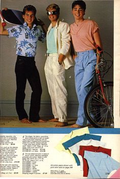 Image result for 1980s tucked  men