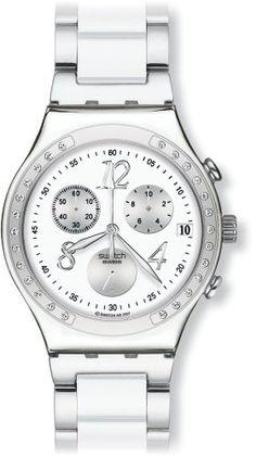 Kaufen Swatch Damen-Armbanduhr Core Collection Dreamwhite YCS511G