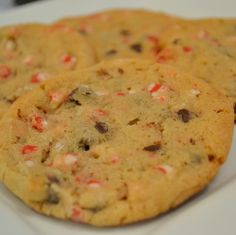 Peppermint Chocolate Chip Cookie #Recipe