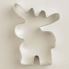 One of my favorite discoveries at WorldMarket.com: Moose Cookie  Cutter