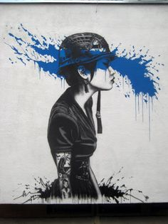 Fin DAC In Warsaw, Poland. Street Art - Graffiti - Urban culture.