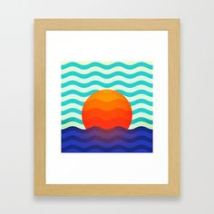 Buy #019 OWLY swimming at the sunrise Framed Art Print by owlychic. Worldwide shipping available at Society6.com. Just one of millions of high quality products available. #frame #building #canvas #canvasprint #walldecor #prints #artwork #print #canvas #poster #print #wallappers #background #owlychic #tapestry