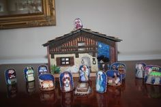 Nativity needlepoint - Melissa Shirley designs - plenty more exquisite Christmas needlepoint at the link
