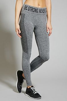 Active Heathered Leggings | shopswell