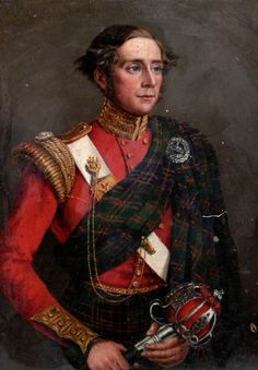 Painting of Lieutenant Colonel Robert Munro Ferguson of Raith and Novar Commander of the Highlander Museum, Inverness, Scotland. Scottish Dress, Scottish Fashion, Military Art, Military History, Military Uniforms, Highlanders, Art Uk, Pax Britannica, My Heritage