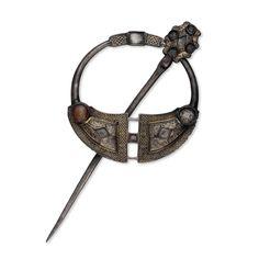 Silver ring brooch Irish, 9th century AD From Tara, County Meath, Ireland The British Museum