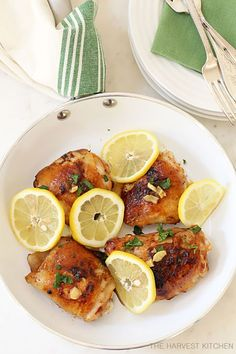 Lemon Garlic Chicken - fancy-edibles.com