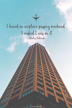 Inspiring Travel Quotes|Pinterest: @theculturetrip