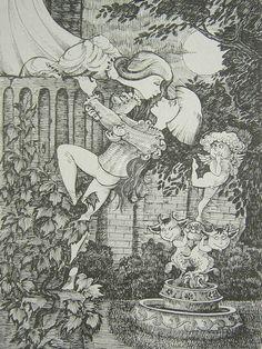 Romeo and by balgeza on DeviantArt My Drawings, City Photo, Ink, Deviantart, Illustration, Nature, Color, Naturaleza, Colour