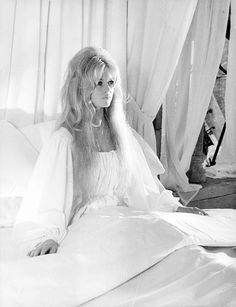 "missbrigittebardot: Brigitte Bardot on the set of ""Les amours célèbres"" , 1961"