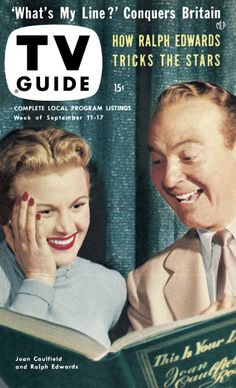 This Is Your Life with Joan Caulfield and Ralph Edwards was very BIG int he 50s - it ran from 1952-1961 and had all the big stars on as well as your average people too.