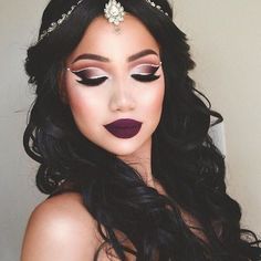 Princess Jasmine, Is That You? - Cut Crease Eyeshadow Techniques That Are All Kinds of Chic - Photos