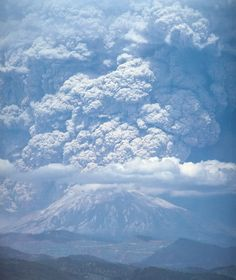May 18, 1980 - Mt St Helens. Was only 6 @ the time, but still remember the day it rained ash...