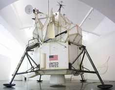 Apollo LEM by Tom Sachs from Space Program Mars (Lunar Excursion Module)