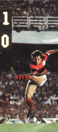 Zico, Flamengo and Cobreloa (Chile)