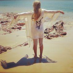 Stag Amulet Kimono on Free People #hippie #kimono ***LOVE THIS!***