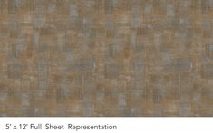 Woven Oak is a warm midtone brown with organic grid patterns running throughout in a cool grey.