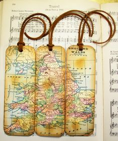 Map Bookmarks Set of 3 England & Wales Old World Map Bookmark Map Lovers' Gifts for Teachers Professors Historians Map Collectors on Etsy, $164.16