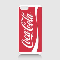 Coke Cola iPhone case with its signature logo and striking red color. Also available for Samsung Galaxy Notes, BlackBerry and Xiaomi smart phones. http://www.zocko.com/z/JKKFO