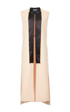 Blush Wool Cashmere Vest Coat by CADE for Preorder on Moda Operandi