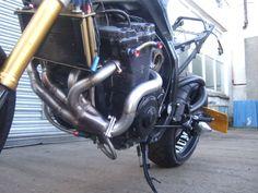 TIG welding bike work