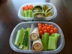 Healthy lunch idea.