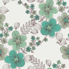 Papel de Parede Floral 1919