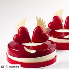 No photo description available. Fancy Desserts, Delicious Desserts, Dessert Recipes, Unique Cakes, Creative Cakes, Simple Cakes, Elegant Cakes, Cupcakes, Cupcake Cakes