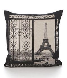 Brentwood Originals Gates To Paris Decorative Pillow | Dillard's Mobile