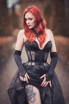 model: Revena photographer: Aneta Pawska - Enchanted Stories dress: Lady ardzesz corset Welcome to Gothic and Amazing | www.gothicandamazing.com