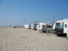 Silver Strand State Beach - You can camp right next to the beach minutes from downtown San Diego
