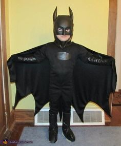 Homemade Batman Costume - 2013 Halloween Costume Contest............THIS REMINDS ME OF OUR BATMAN LUCA! & DIY Batman Costume | Pinterest | Diy batman costume Batman costumes ...