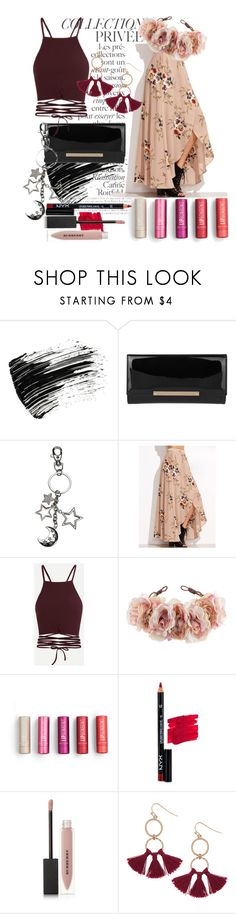 """Feeling Flowery!"" by veewers ❤ liked on Polyvore featuring By Terry, Marc Jacobs, Jimmy Choo, Rock 'N Rose, NYX, Burberry and Humble Chic"