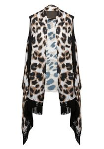Love leopard! Fur Coat, Label, Sweaters, Jackets, Design, Fashion, Down Jackets, Moda, Fashion Styles