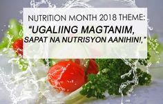nutrition month 2018 theme in the philippines
