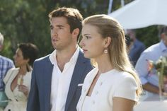 Emily VanCamp and Josh Bowman in Revenge - Confession