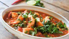 Ben je dol op Marokkaanse en Arabische gerechten? Maak dan eens deze vistajine met kabeljauw. Heerlijk en ook nog eens zo klaar!