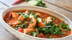 Vistajine - Little Spoon Tajin Recipes, Boat Food, Ras El Hanout, Dutch Recipes, Arabic Food, Fish And Seafood, Wok, Thai Red Curry, Slow Cooker