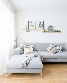 DOMINO:14 Ways To Make a Small Living Room Bigger