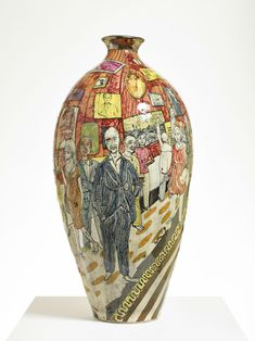 How Grayson Perry is taking on America: 'People want to be provoked, but not catastrophically' Ceramics Projects, Art Projects, Grayson Perry, Turner Prize, American Quilt, Galleries In London, Art Courses, Popular Art, Arts And Entertainment