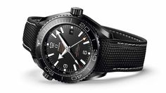Omega Seamaster Planet Ocean GMT Deep Black Watches In Ceramic Watch Releases Omega Seamaster Planet Ocean, Omega Planet Ocean, Dream Watches, Luxury Watches, Cool Watches, Rolex Watches, Watches For Men, Black Watches, Wrist Watches
