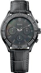 Women's Black Hugo Boss Ultimate Chronograph Watch 1502342