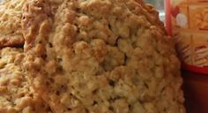 Recette : Galettes au gruau. Biscuits Végétaliens, Biscuits Graham, Scones, Muffins, Cooking Recipes, Cookies, Desserts, Fruit Tart, Cooking