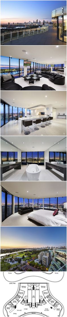 Stunning Melbourne Penthouse - In A Class Of It's Own