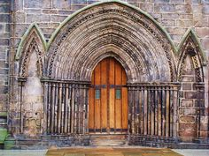 West Door - Paisley Abbey