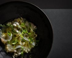 Fluke with Green Chili Dressing, Crunchy Rice and Herbs- A Recipe From the Michelin-Starred Chef of ABC Cocina Chalkboard Mag, Jean Georges, Michelin Star Food, Dry Rice, Puffed Rice, Chili Lime, New Recipes, Yummy Recipes, Healthy Choices
