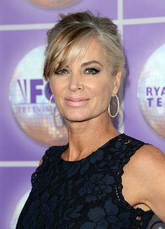 'Days of Our Lives' Spoilers: Eileen Davidson Leaves DOOL After 10 Episode Stint – Theresa Causes Nicole Trouble, Brawl Ensues Eileen Davidson, Eric Roberts, Bold And The Beautiful, Young And The Restless, Days Of Our Lives, Celebs, Celebrities, Great Hair, Hair Today