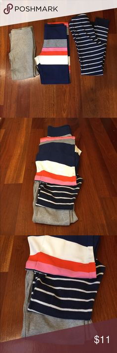 Legging One brand new from old navy, the othe is use but still good condition from Gymboree Gymboree Bottoms Leggings